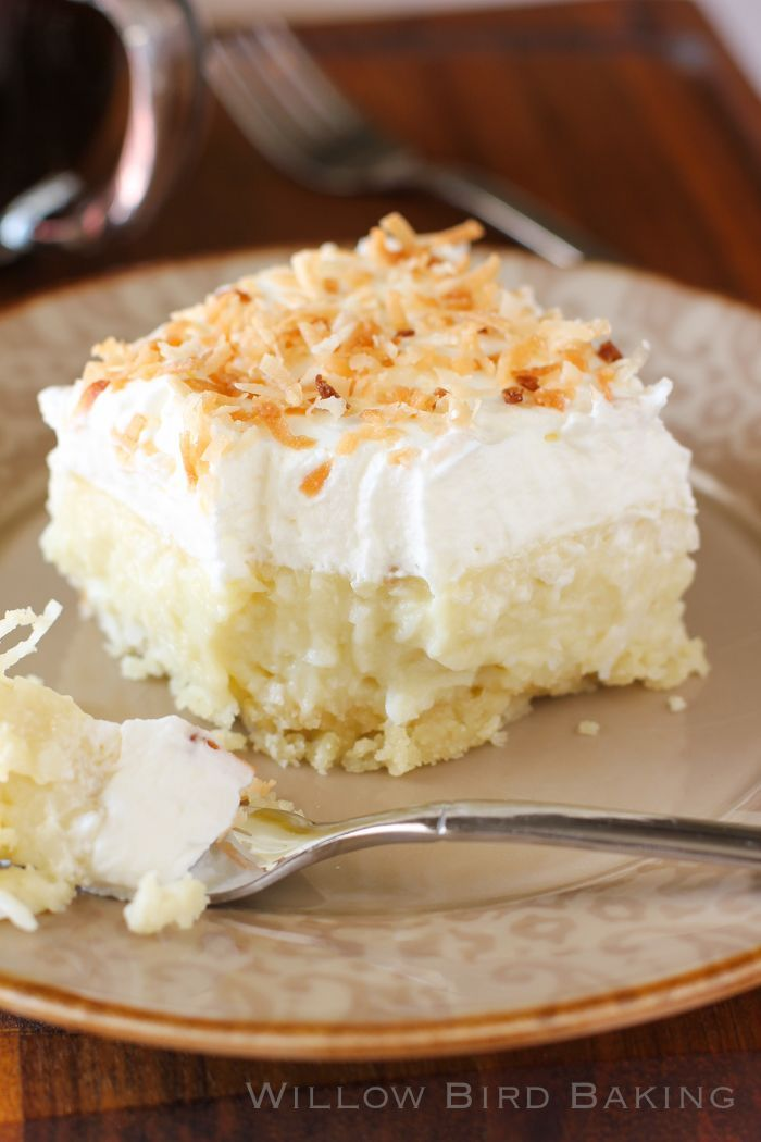 Good grief, these look insane! Coconut Cream Pie Bars > Willow Bird Baking