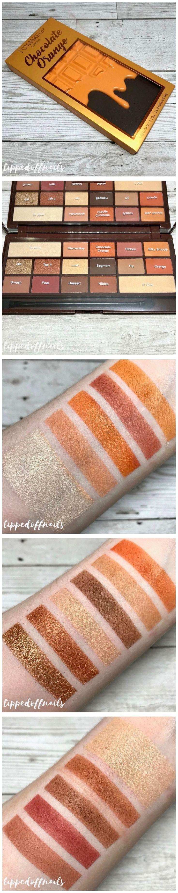 I Heart Makeup (Tam Beauty) Chocolate Orange palette