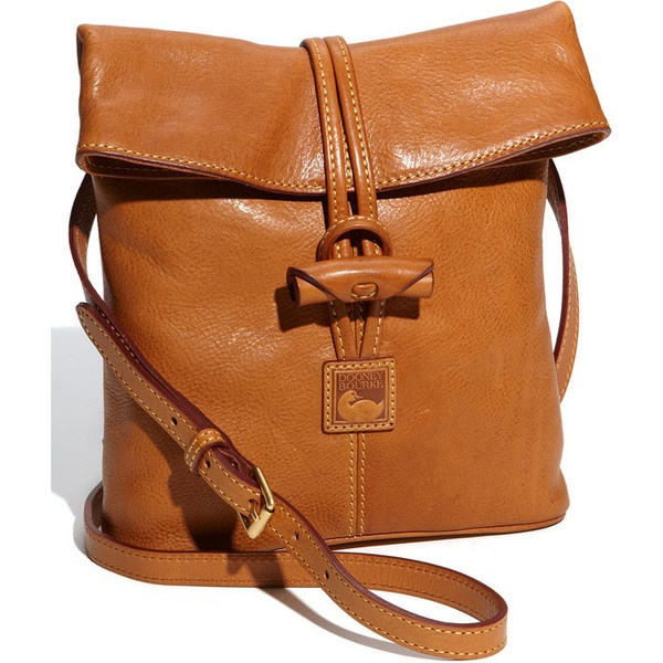 Dooney & Bourke 'Florentine Toggle' Crossbody Bag Natural One Size ($198) found on Polyvore