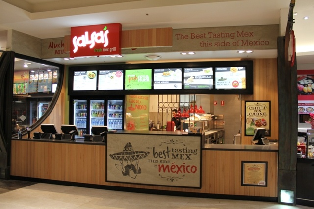 Salsa's Fresh Mex Grill, Parramatta, NSW