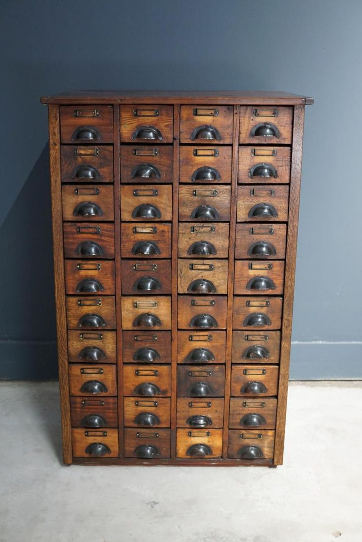 Vintage apothecary cabinet for sale - Vintage French Pine Apothecary Cabinet With Brass Hardware 1930s 9