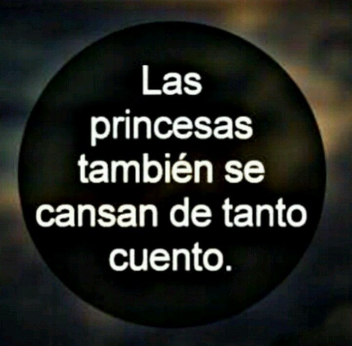 las princesas.....