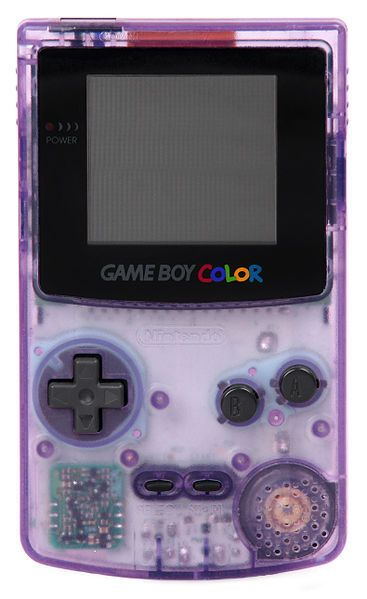 90s Nostalgia: Generation Y's Childhood TV Shows, Toys, Trends And More I totally had this EXACT GameBoy Color :):)