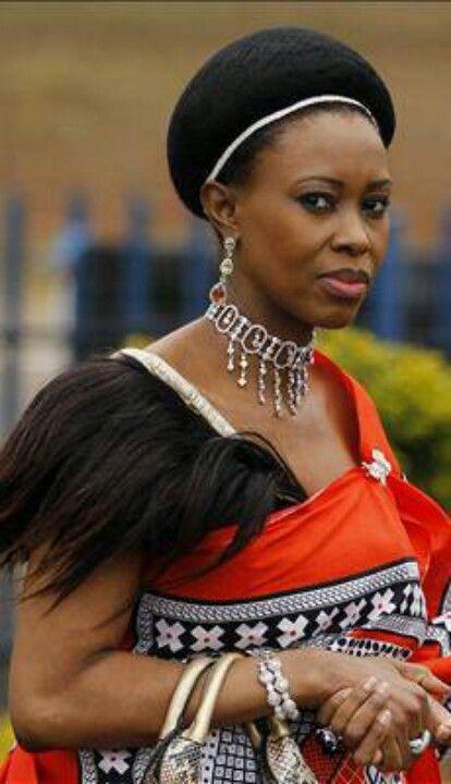 Queen of Swaziland..