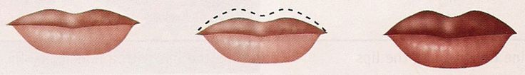THIN UPPER LIP: Use a lip-lining pencil to outline the upper lip and fill in with lip color to balance with the lower lip.