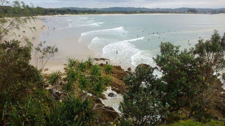 Another beautiful day at The Pass Byron Bay!