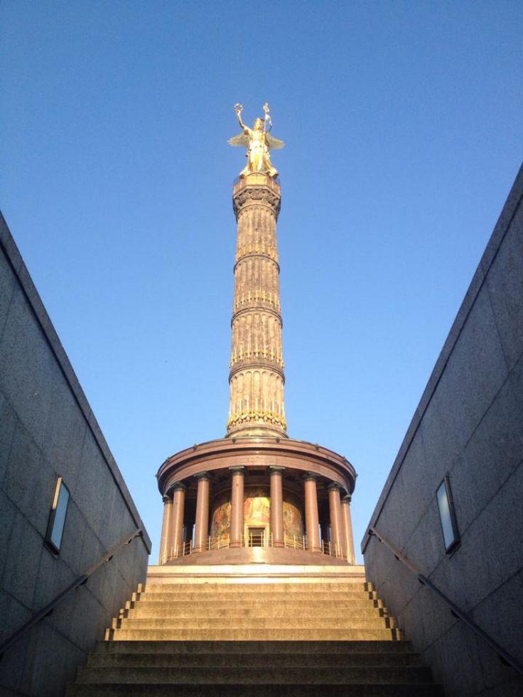#tiergarten #siegessaeule #berlin
