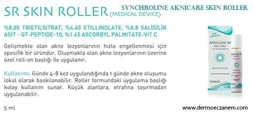 Aknicare Skin Roller Kullanımı , Synchroline Aknicare ürünleri http://www.dermoeczanem.com/synchroline  da.