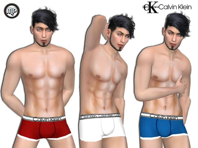 Sims 4 CC's - The Best: Male Underwear by MartyP
