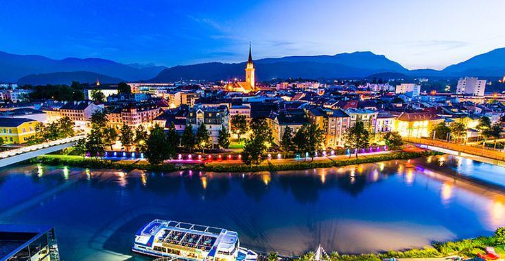 Österreich Kärnten Sommerurlaub Villach