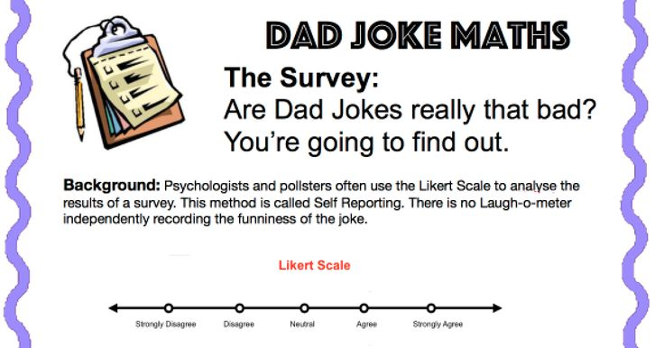 Dad Jokes: The Postive, the negative and the number line. Best EVER number line exercise.