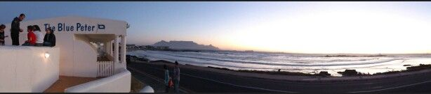 Table mountain seen from Blue Peter,  Bloubergstrand