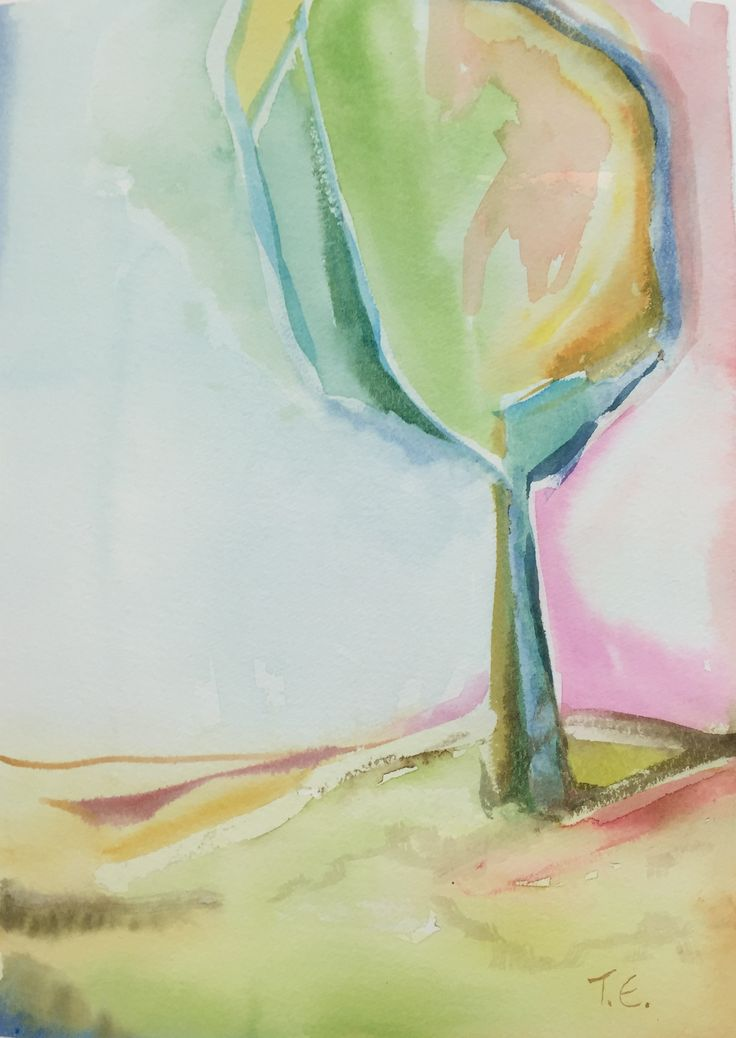 Tall as a Tree - Watercolor 2015/10