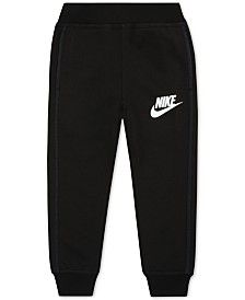 Nike Little Boys' Ribbed-Cuff Jogger Sweatpants
