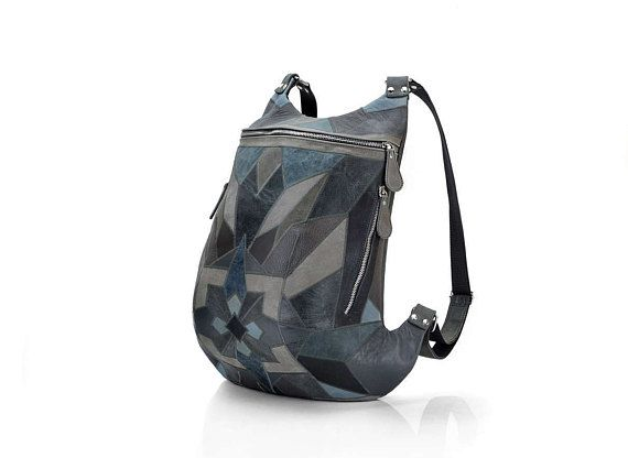 Leather Backpack in stock  Leather backpack pattern  Leather