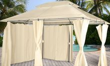 Beige curtained marquee - Groupon Goods Global GmbH