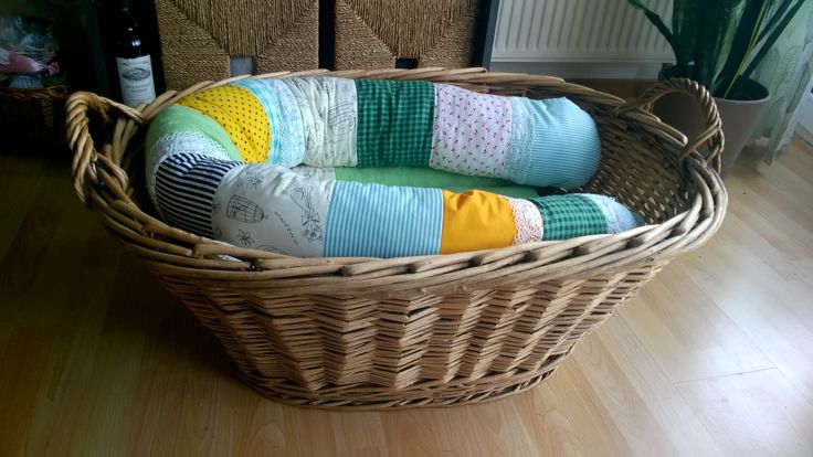 Baby basket designed as a baby nest