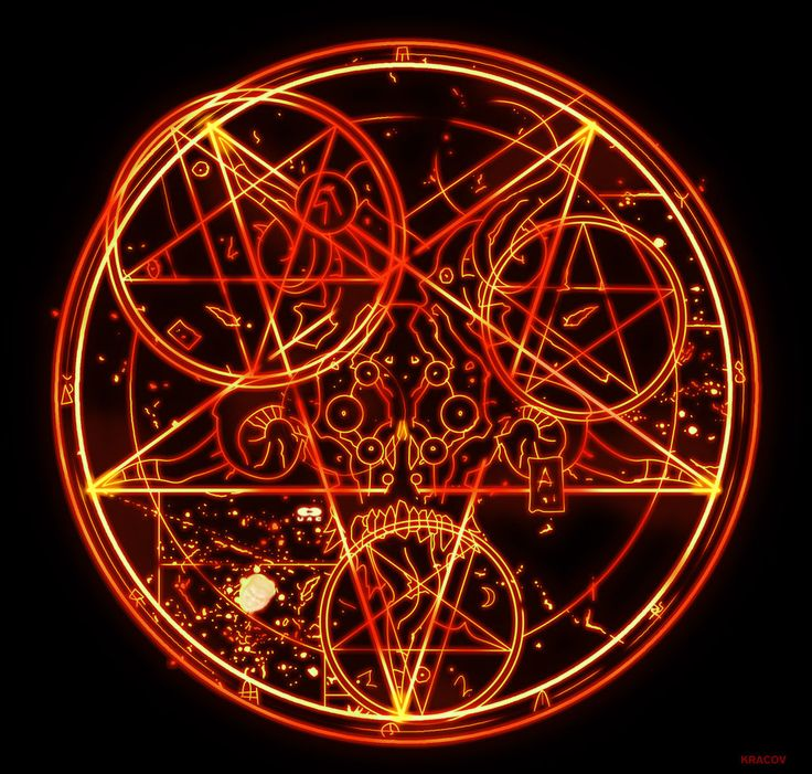 Doom 3 Pentagram HD by Kracov