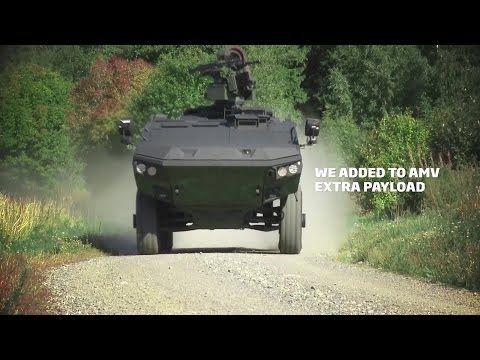 Patria - AMV XP 8X8 Amoured Modular Vehicle [1080p] - YouTube