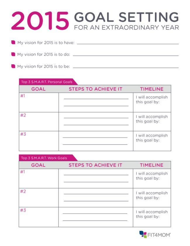 39 best goals planning to succeed images on pinterest calendar goal setting worksheet and. Black Bedroom Furniture Sets. Home Design Ideas