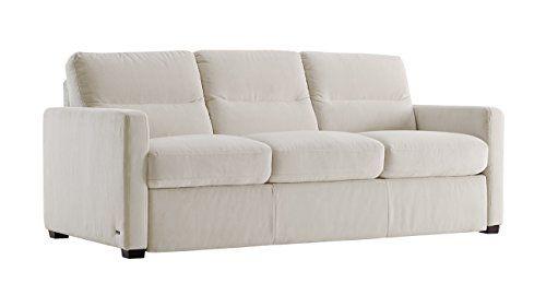 galileo cream microfiber queen sleeper sofa navy velvet living room natuzzi editions