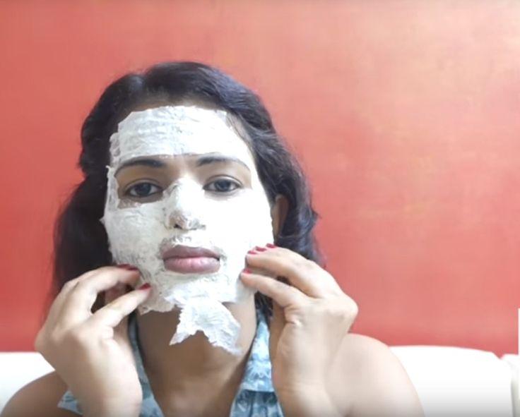 Gesichtsbehandlung, Einfach, Natürlich Und Schnell