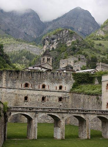 Forte di Vinadio - between the French border and Cuneo, Italy