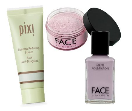 Color Correction 101: How to Use That Green Concealer.  Overall over Pixi...good over roseacea