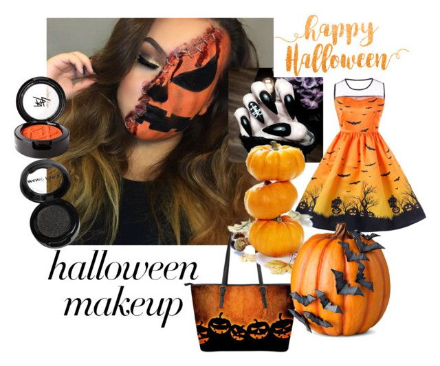 """""""Halloween makeup"""" by misisspoly on Polyvore featuring bellezza, Manic Panic NYC, Beauty Is Life e Improvements"""