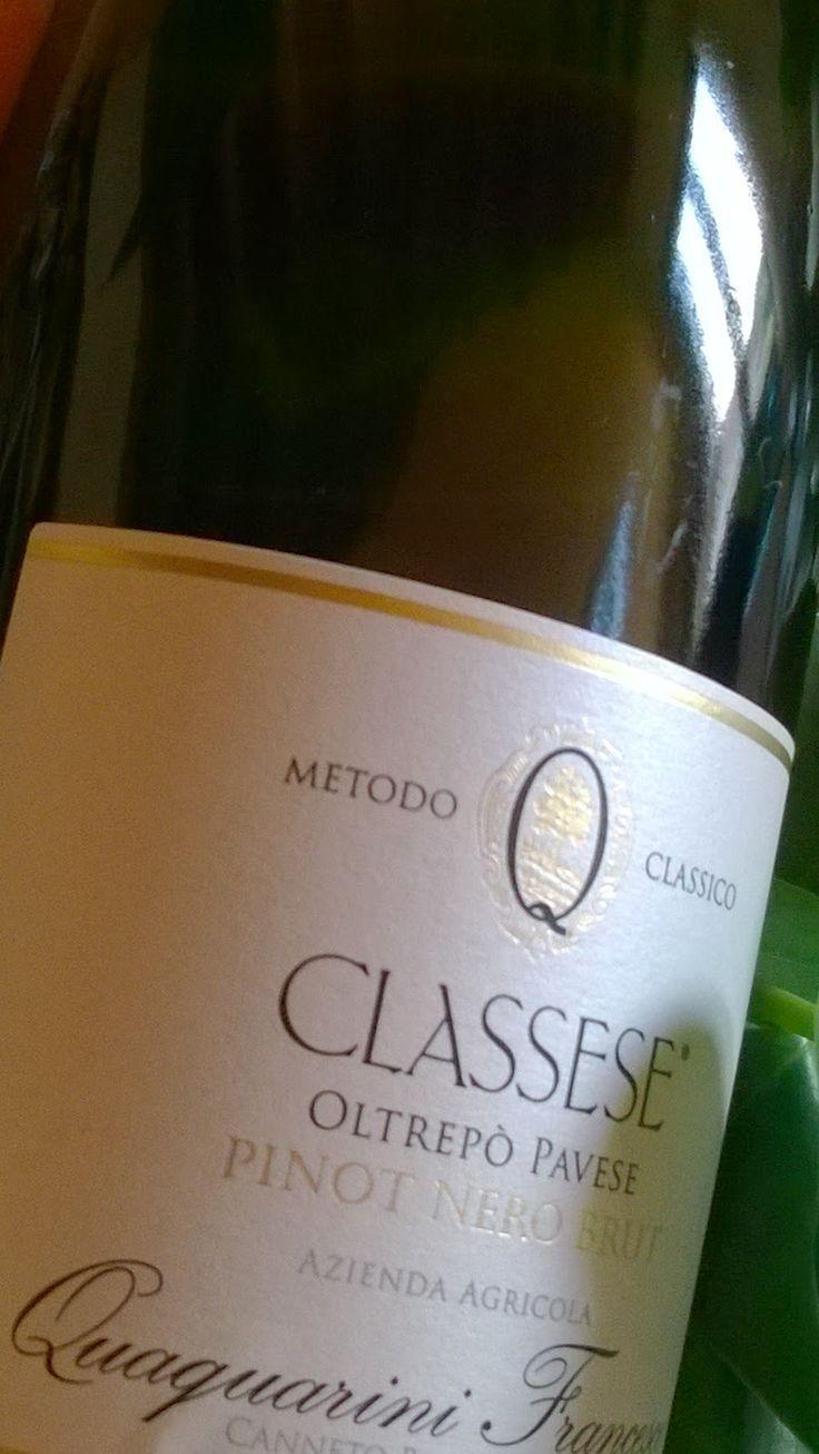 Classese - Vino bianco Brut, in ottimo abbiamento  come aperitivo per poi passare a un pranzo/cena raffinati anche  con pesce, ha una piacevole fragranza fruttata, dal sapore piacevole ed accattivante. http://testerperamici.blogspot.it/2014/09/il-buon-vino-fa-bene-quaquarini-il-vino.html