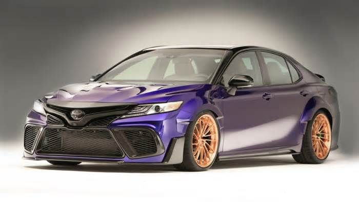 Toyota NASCAR drivers create their own custom Camrys For this year's SEMA show, Toyota is showcasing a bunch of custom 2018 Camrys. And despite being very different, they all share one common theme, besides being Camrys. They're all customized by NASCAR drivers who race the Camry. Well, all of them except ...