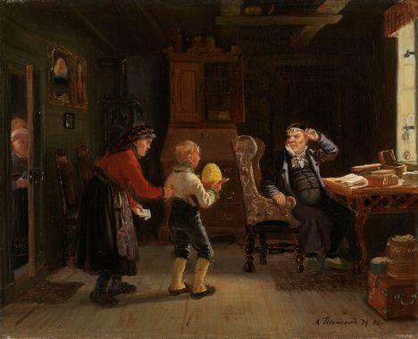 DigitaltMuseum - Anmeldelse til konfirmasjon a. tiedemand 1846