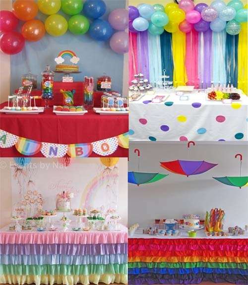 136 Best Rainbow Baby Shower Rainbow Party Images On Pinterest