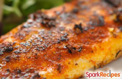 Easy Cajun Tilapia via @SparkPeople