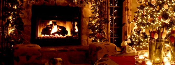 Christmas Fireplace facebook cover 2016