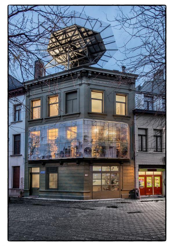 Panamarenko house - Antwerp - Belgium