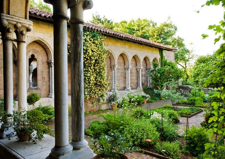 A medieval cloister would go great with my garden.