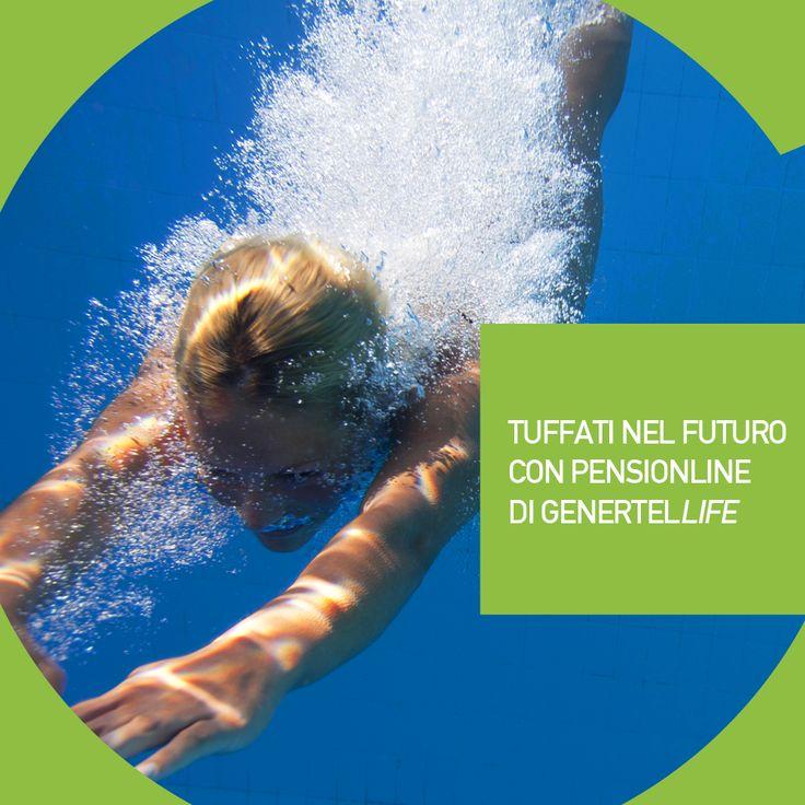 Vuoi una vita stile libero? Tuffati nel futuro! Con Pensionline di Genertellife non nuoterai mai in cattive acque! Scopri di più>> http://bit.ly/pensionline
