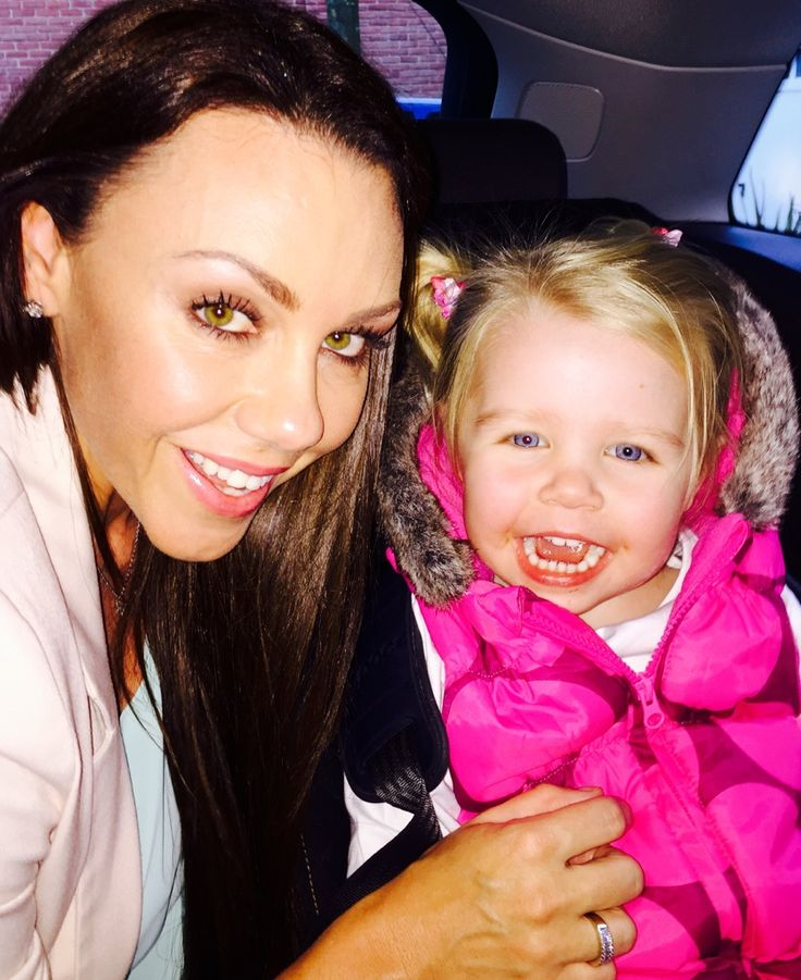 Michelle Heaton's selfie with her daughter for #TellYourDaughter