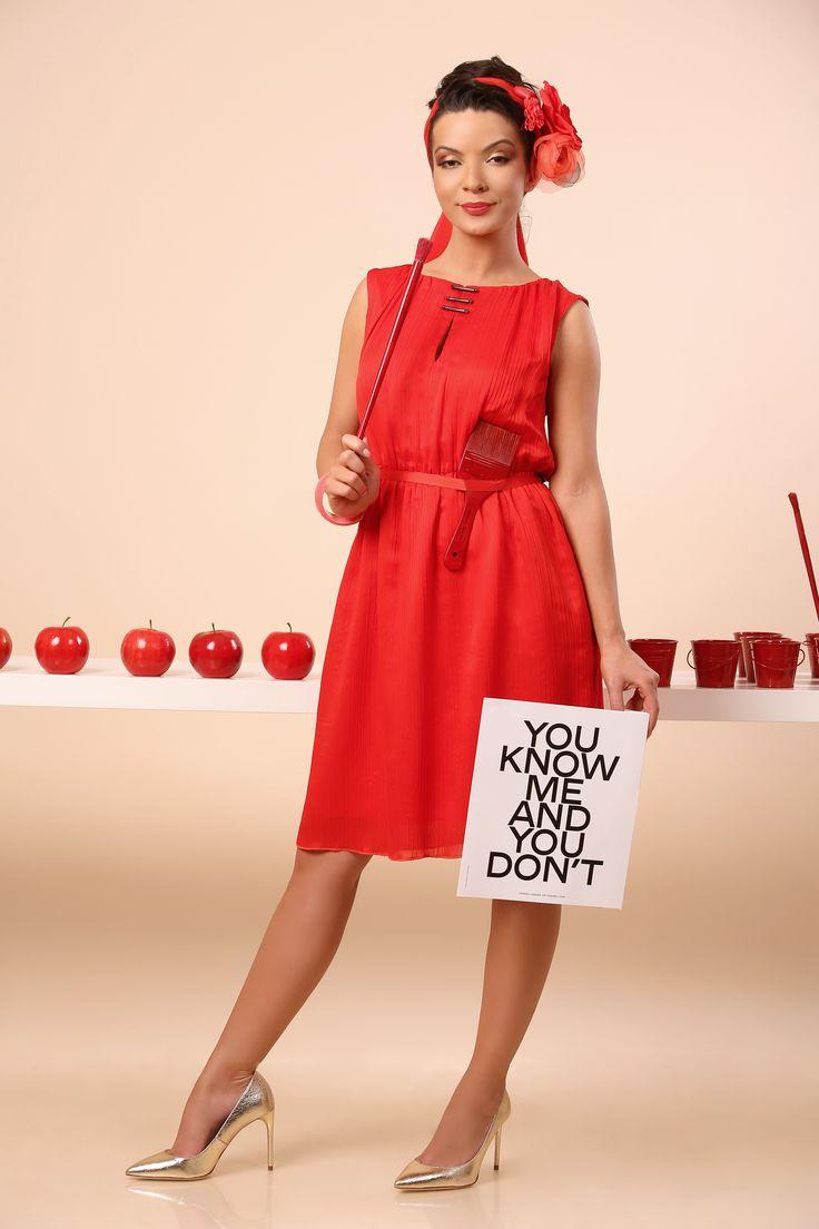 Summer RED SUMMER 17 | YOKKO #redorange #dress #party #passion #ellegant #color #summer17 #yokko #fashion #style #woman