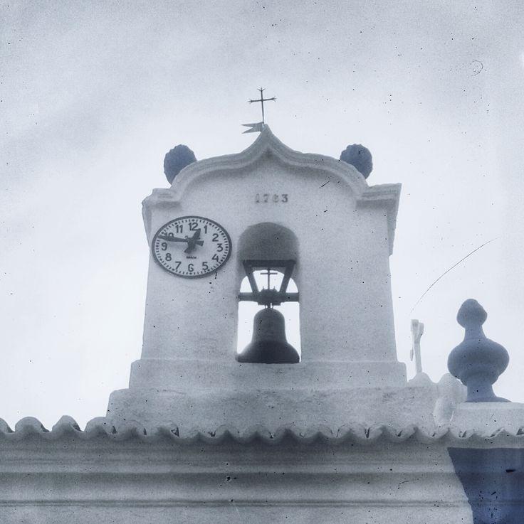 church; clock;
