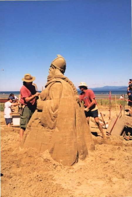 Parksville Sand Castle Festival