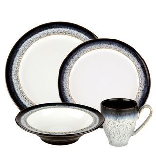 Denby Halo 16-piece Dinnerware Set | Overstock.com Shopping - The Best Deals  sc 1 st  Pinterest & 69 best tabletop images on Pinterest | Countertop Table and Tabletop