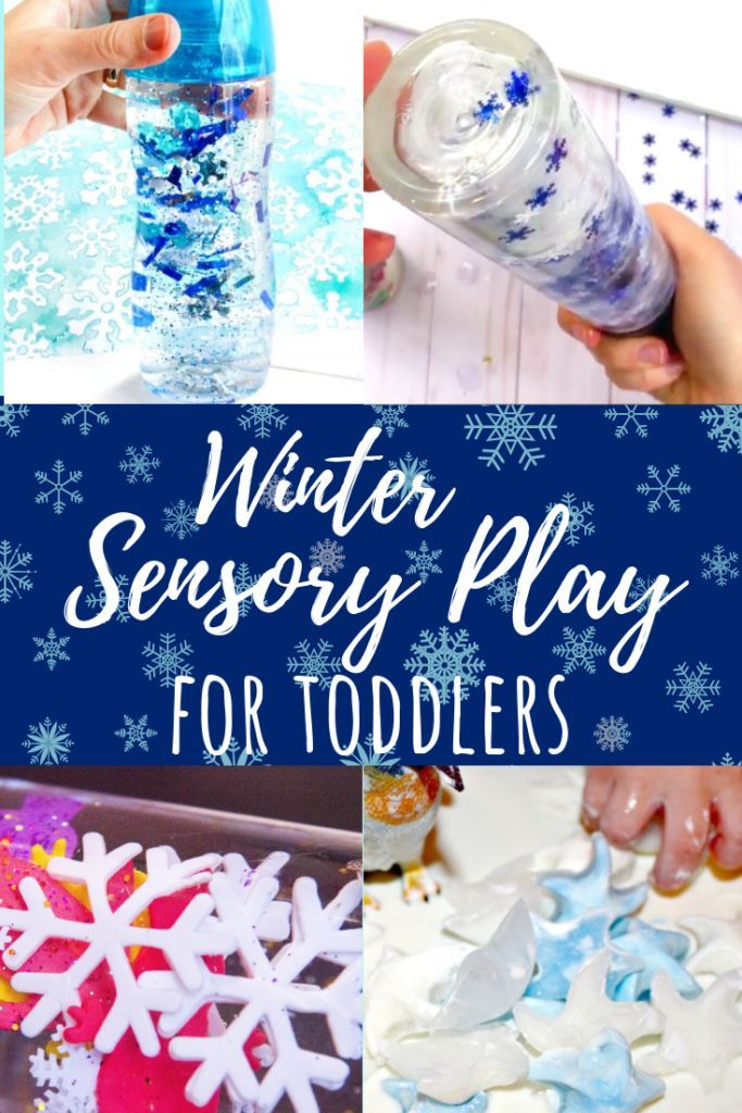 Winter Activities for 1 Year Olds: Crafts, Sensory & Fine Motor