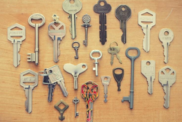 collecting keys.