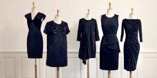 """Monoprix socialise ses points de vente en permettant d'épingler ses nouvelles """" 5 petites robes noires """" sur Pinterest grâce à un Flash code sur le produit."""