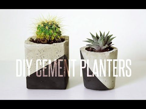 Elle ajoute du ciment dans un carton de jus, mais c'est dans la finition que sa création devient magnifique! - Décorations - Trucs et Bricolages