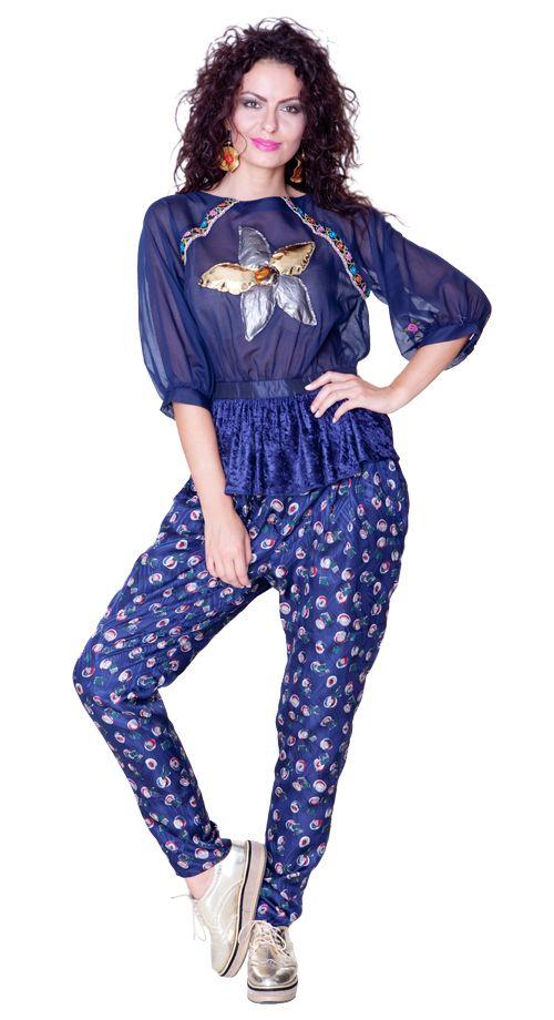 Pantalon Mavy si bluza Rania