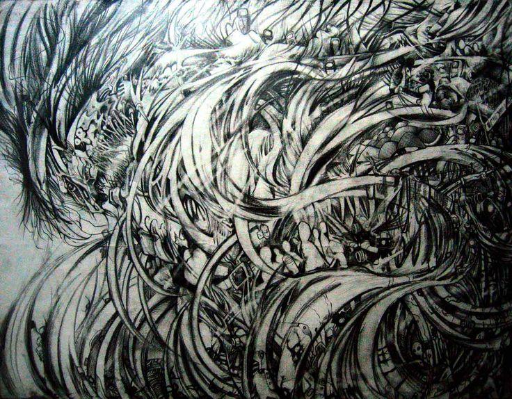 Tsunami - Artwork by jun1art