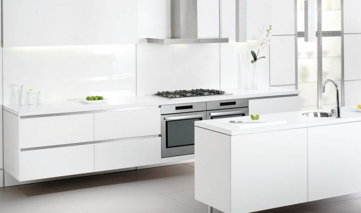 My Dream Kitchen : Inspiration Gallery : Contemporary White